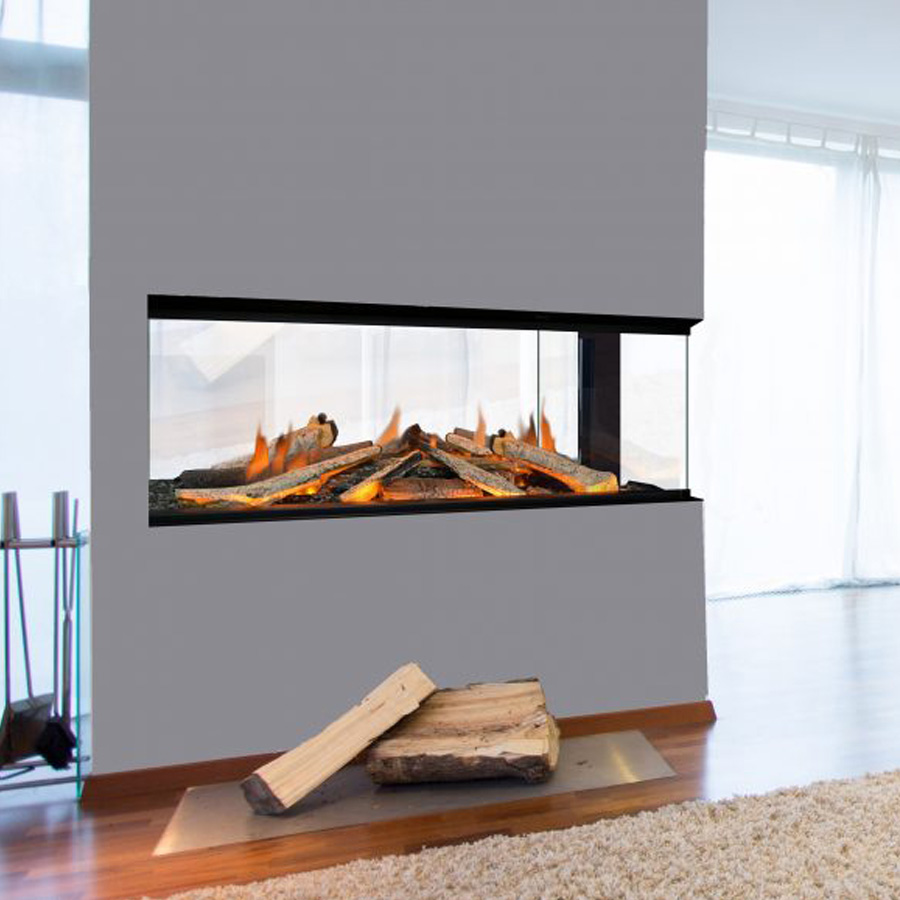 EVONIC UK Electric Fireplace 103 Divider, 4 sides