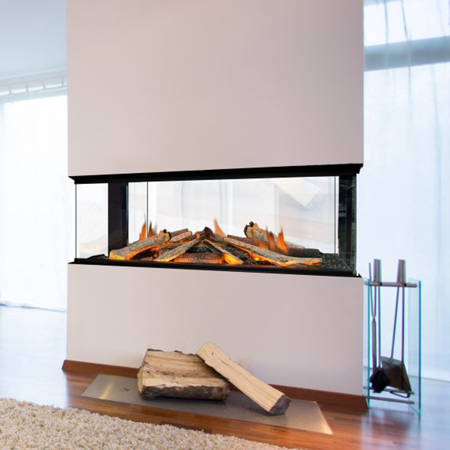 EVONIC Electric Fireplace 4 sides 103