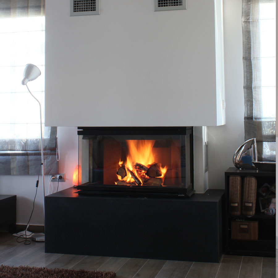 Regal fireplaces 3 sided 80 for 3 sided fireplaces