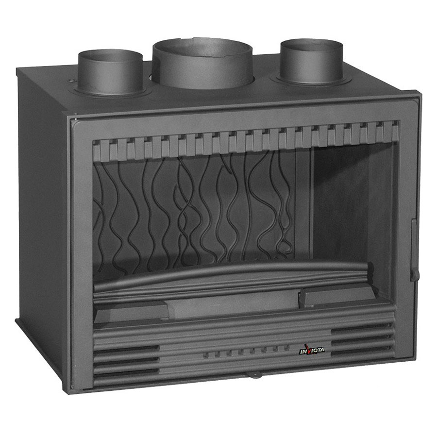 Invicta Fireplaces Turbo Compact C520 700 Wood And Gas