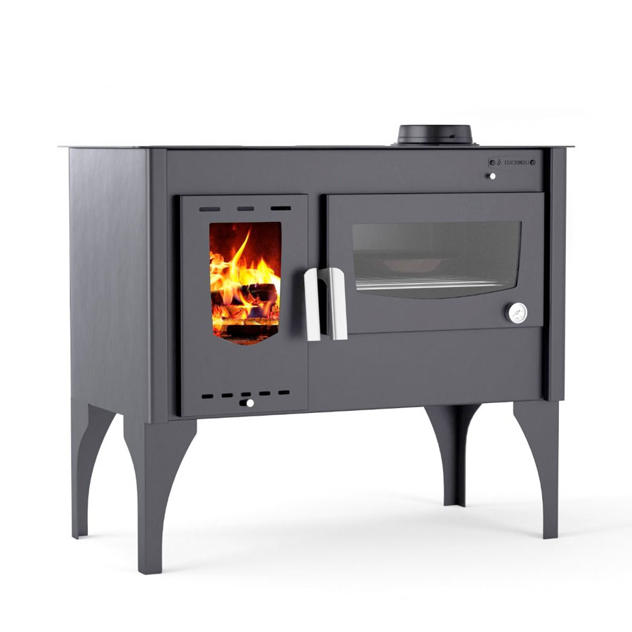 THERMIKI Wood Stove with Oven Masina Vergina