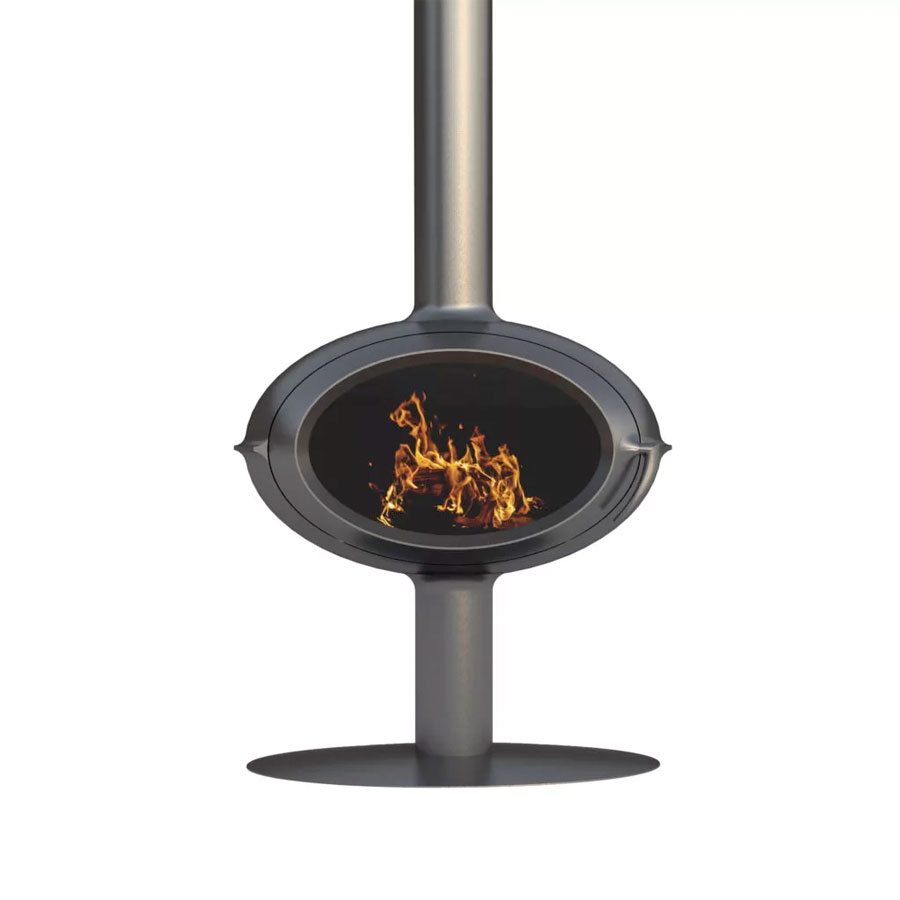 INVICTA FRANCE Wood Stove Brio Pied Central