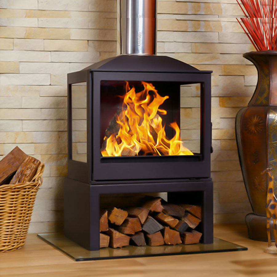 LISEO CZECH Wood Stove 4-Sided 55