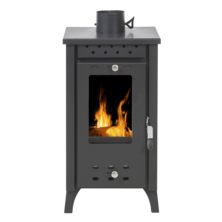 GEKAS GREECE Wood Stove MG 100 Black