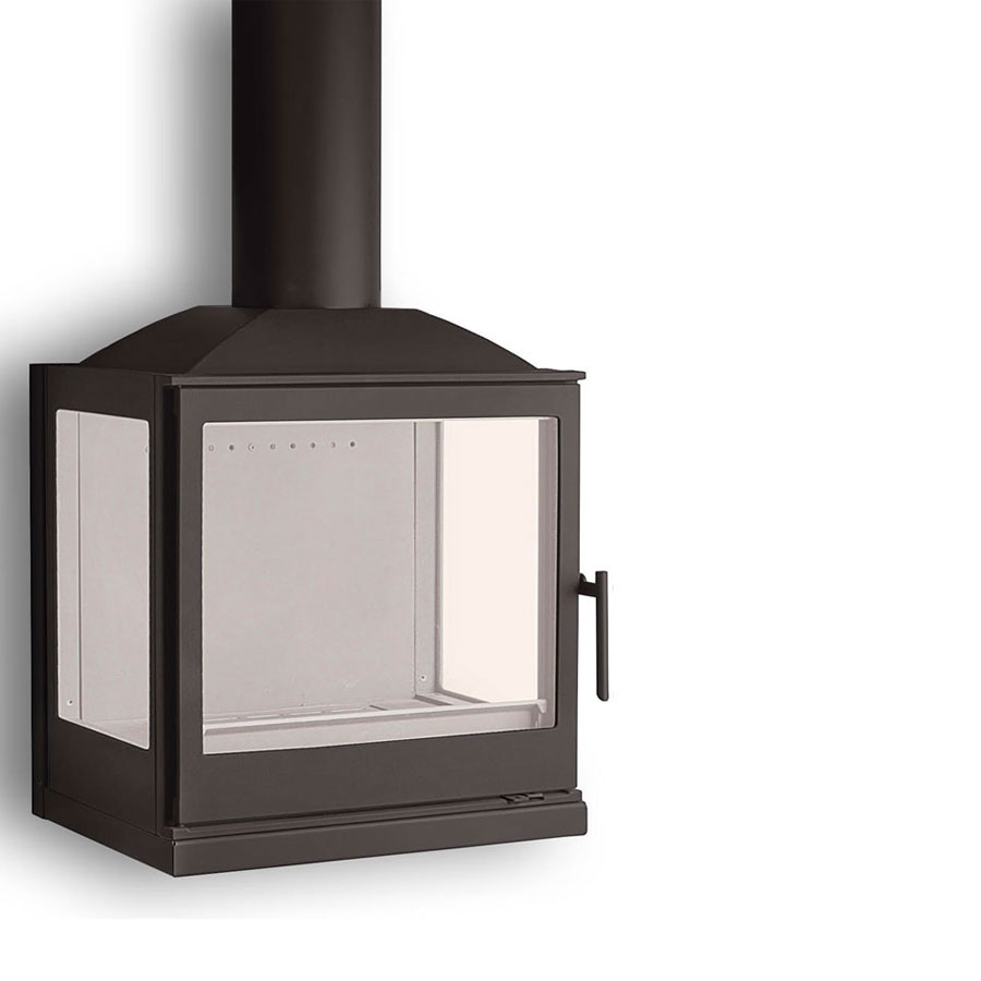 LISEO CZECH Wood Fireplace 3-Sided W5LR