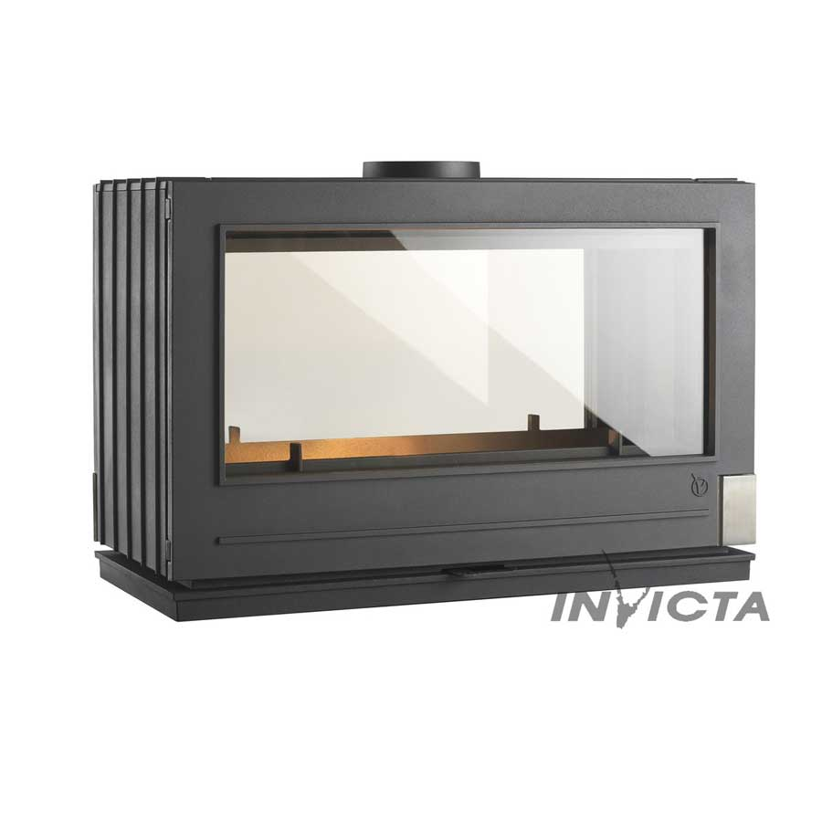 Invicta Fireplaces Aaron Double Sided Wood And Gas Fireplaces Cheminee Stones Lebanon