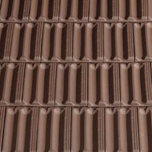 LA ESCANDELLA Roof Tiles Brown Flat