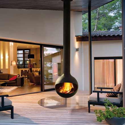 FOCUS Wood Fire Bathyscafocus Outdoor