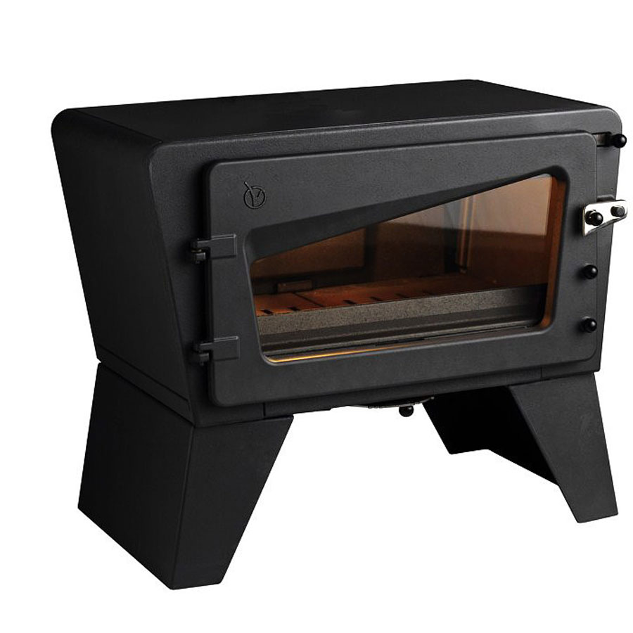 invicta fireplaces ch 39 ti poele ivory wood and gas roof tiles fireplaces stones. Black Bedroom Furniture Sets. Home Design Ideas