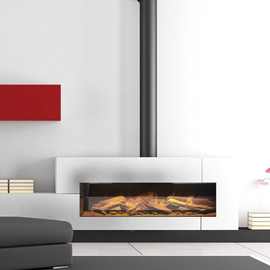 Astounding Evonic Uk Electric Fireplace Horizontal 105 Home Remodeling Inspirations Genioncuboardxyz