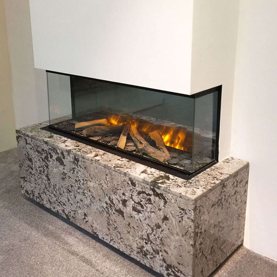 EVONIC UK Electric Fireplace Corner / 3 Sides 103