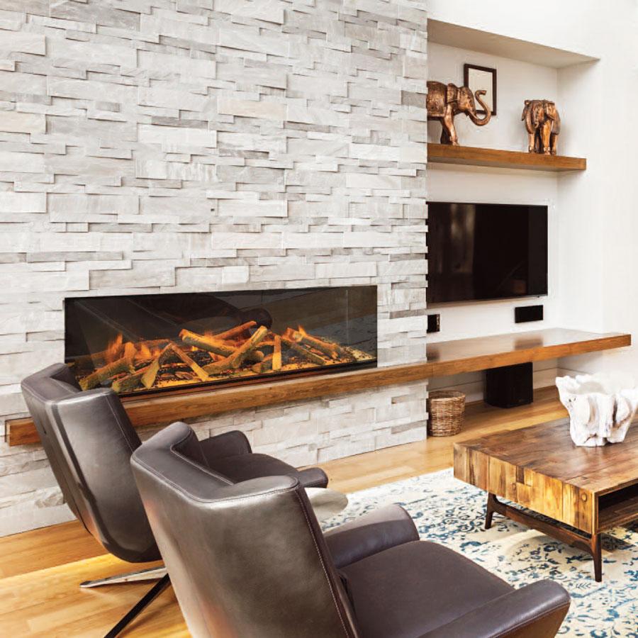 Evonic Uk Electric Fireplace Horizontal 156