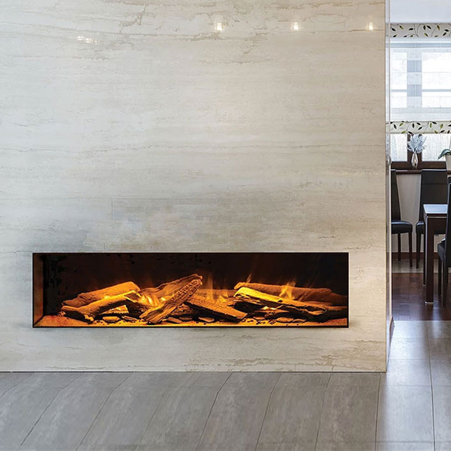 EVONIC UK Electric Fireplace Horizontal 156