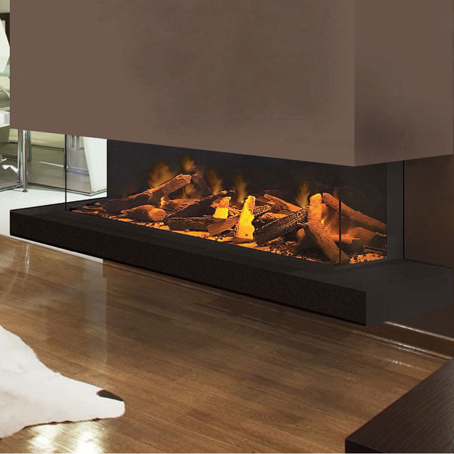 EVONIC UK Electric Fireplace 3 Sides 153