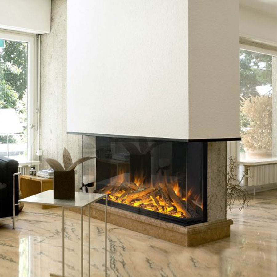 EVONIC Electric Fireplace Front High/Corner/3 Sides 156