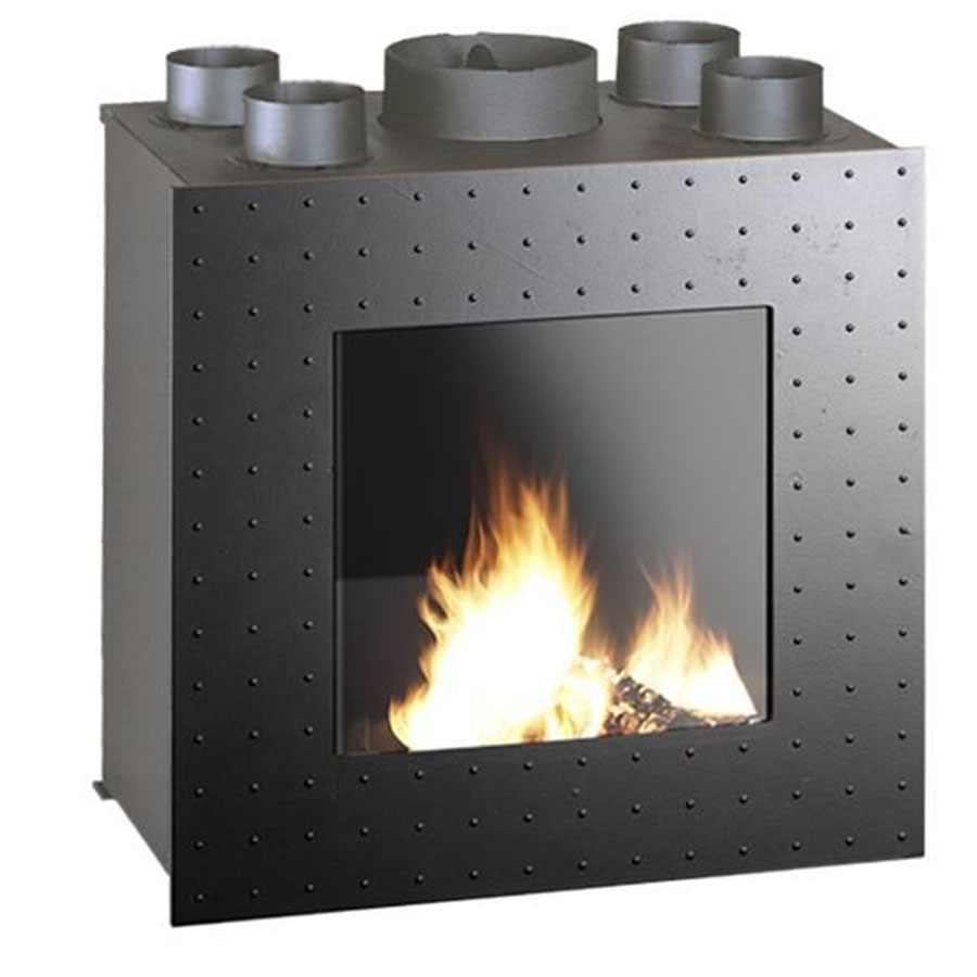 invicta fireplaces turbo flameo 750 75 cm. Black Bedroom Furniture Sets. Home Design Ideas
