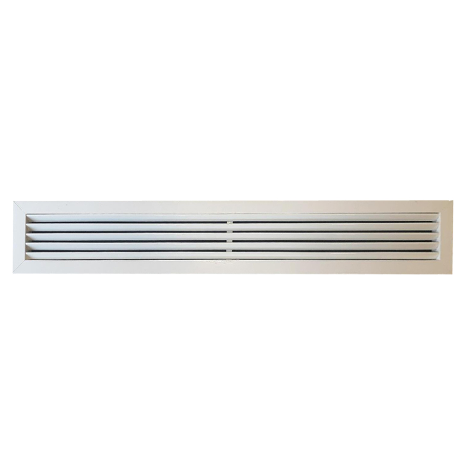 KBE Vent Grill 45 Dg Fixed Blade Less Damper 85X10