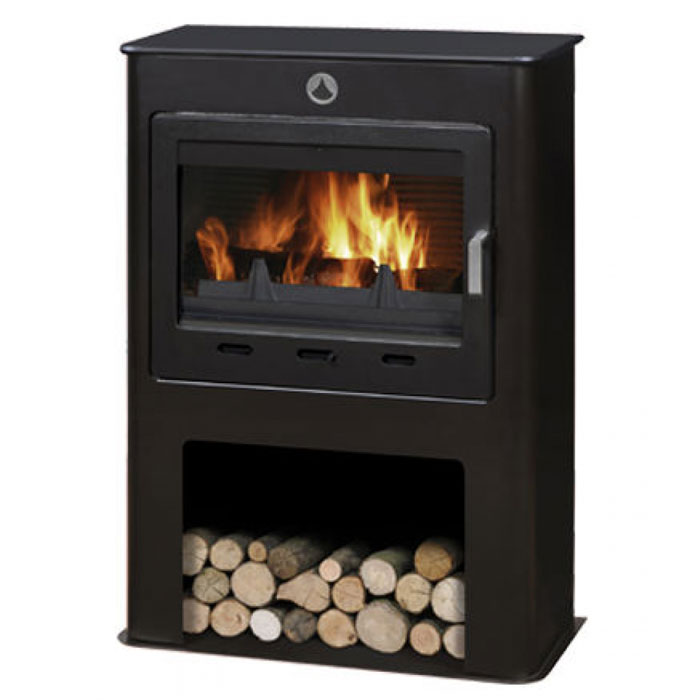 INVICTA Wood Stove Grand Saphir Noir