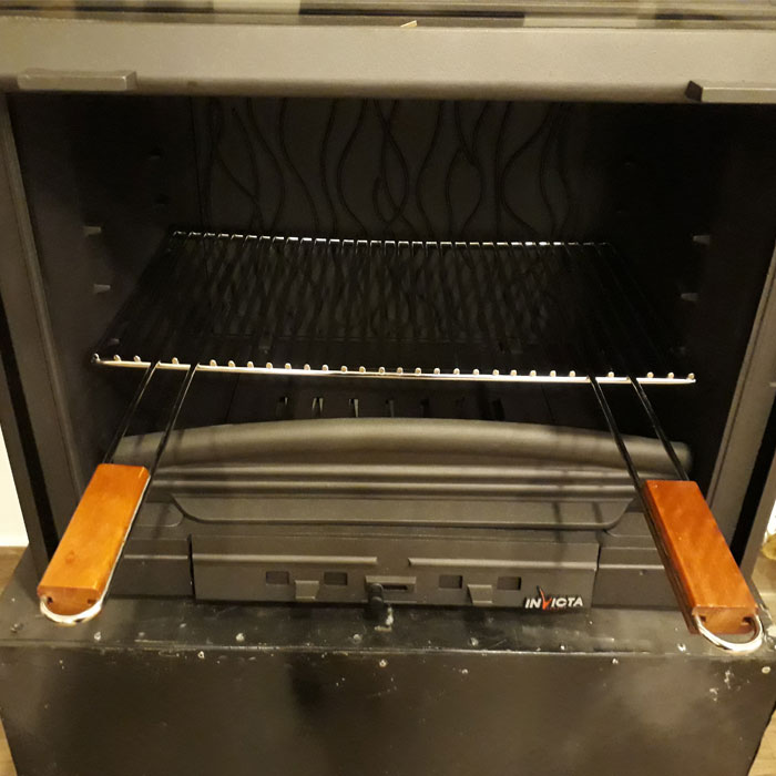 INVICTA FRANCE Stainless Grill for Foyer 700 - P677701A