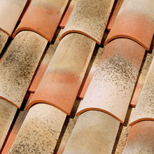 LA ESCANDELLA Roof Tiles Hispania Curved