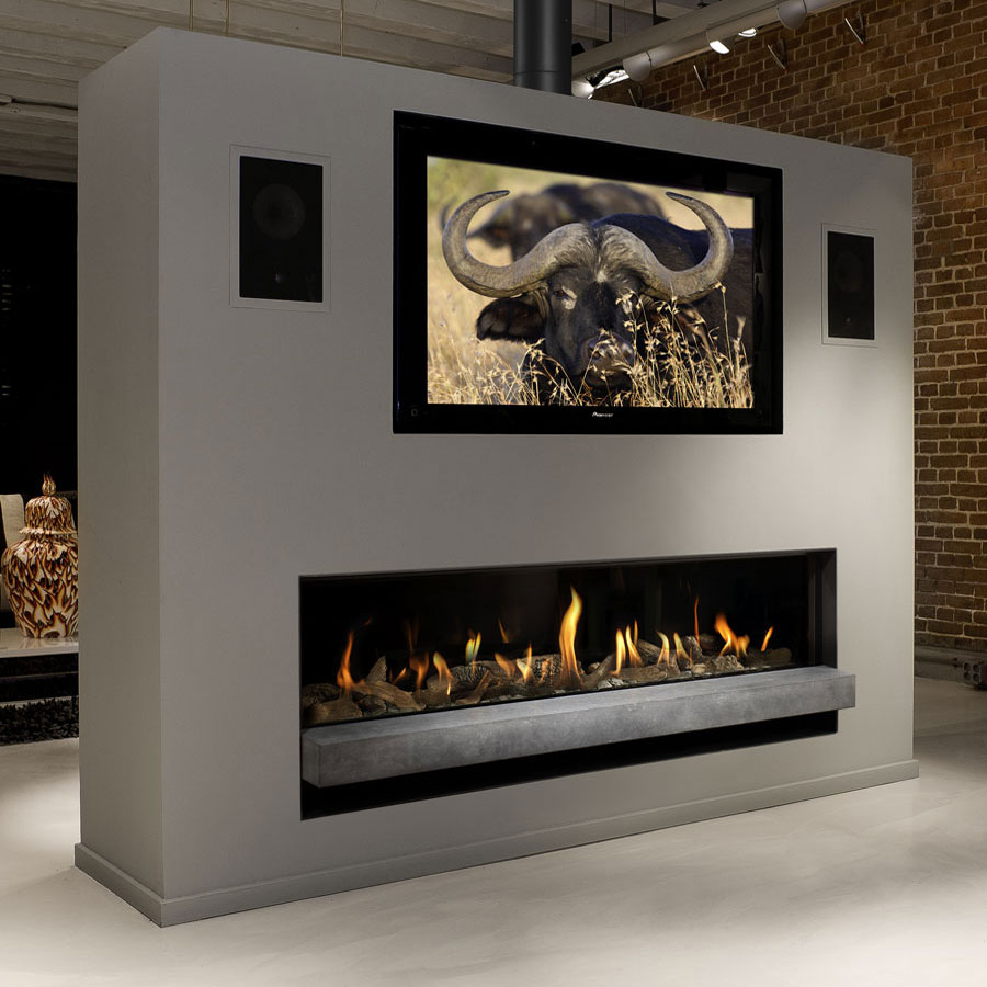Bellfires fireplaces horizon bell xxl 3 176 cm for Decoration xxl