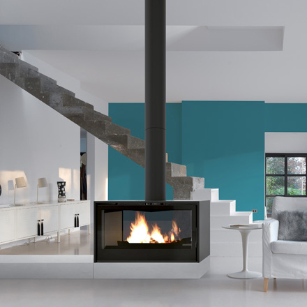 AXIS FRANCE Wood Stove Tunnel I 100 PDF Raisable