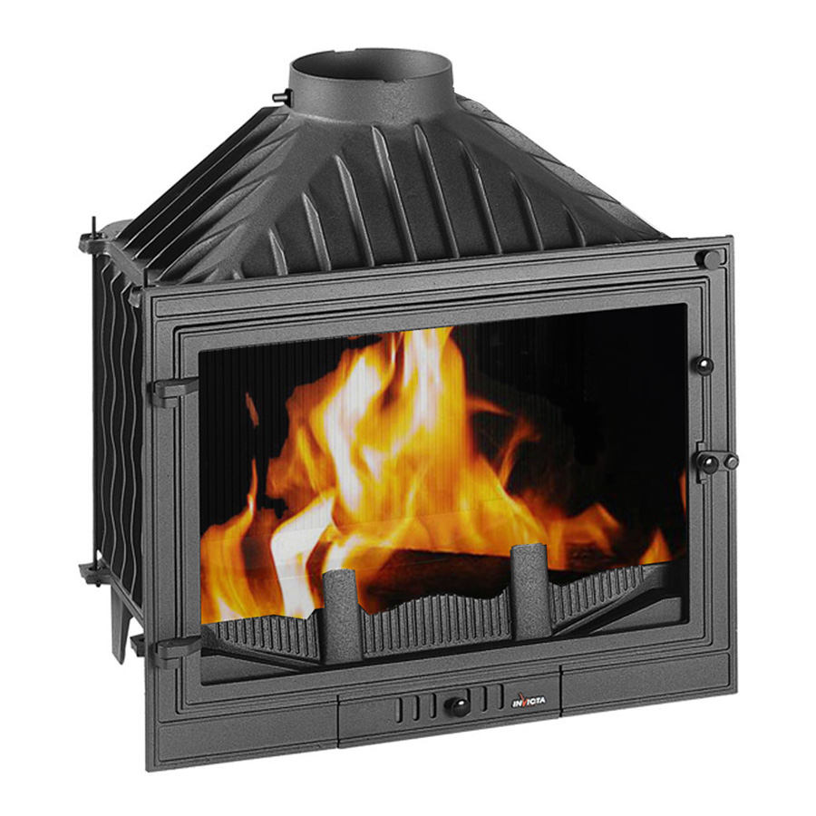 INVICTA FRANCE Wood Fireplace 70 Promo Lateral