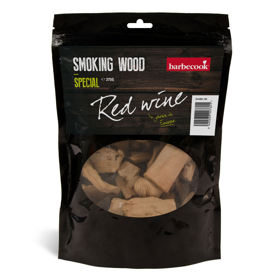 BARBECOOK BELGIUM Smoking Wood Red Winie Special