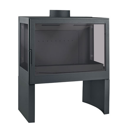 LISEO CZECH Wood Stove 3-Sided