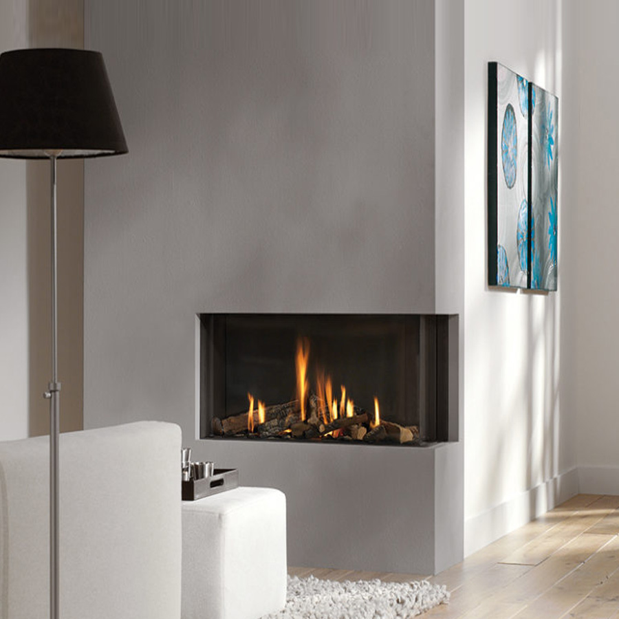 KRATKI POLAND Gas Fireplace Corner Right 70