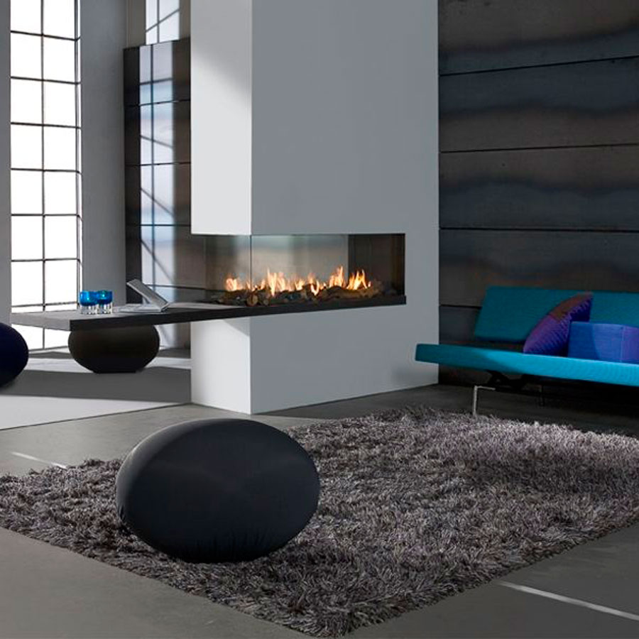 Flat Fireplace Wall