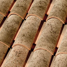LA ESCANDELLA Roof Tiles Lucentum Curved