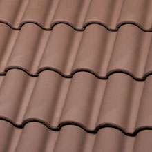 LA ESCANDELLA Roof Tiles Brown Mixed