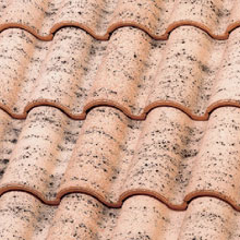 LA ESCANDELLA Roof Tiles Salmon Mixed