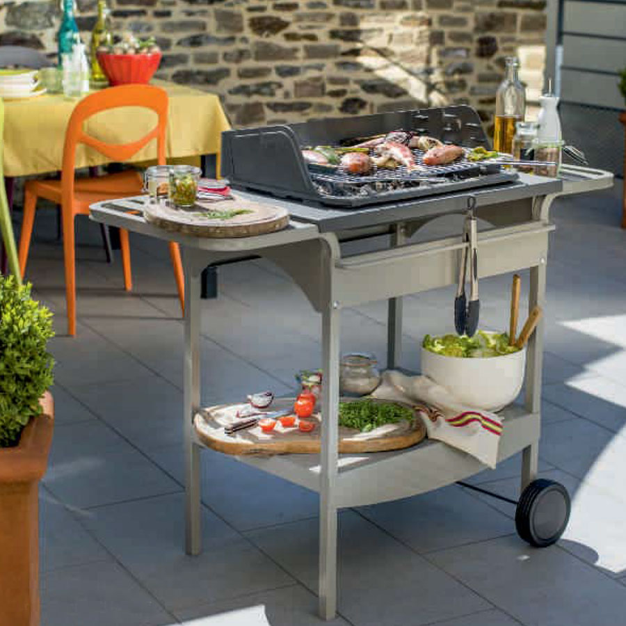 INVICTA FRANCE Charcoal BBQ Grill Madisson + Metal