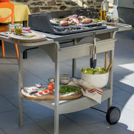 INVICTA FRANCE BBQ Grill Madisson + Char. Metal