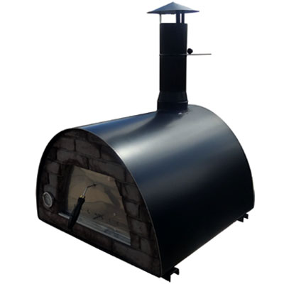 IMPEX WOOD OVEN MAXIMUS PRIME BLACK 90 X 90