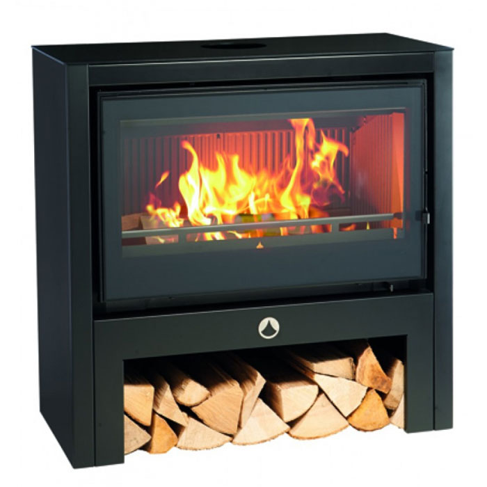 INVICTA Wood Stove Mercure 80 Noir