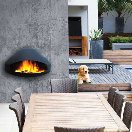 FOCUS Wood Fire Frontal Miofocus Outdoor