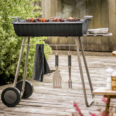 INVICTA FRANCE Charcoal BBQ 660 Niagara