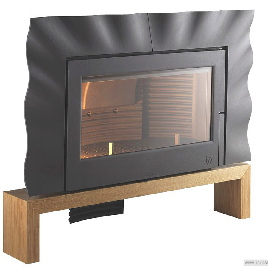 invicta fireplaces oriya wood and gas fireplaces. Black Bedroom Furniture Sets. Home Design Ideas