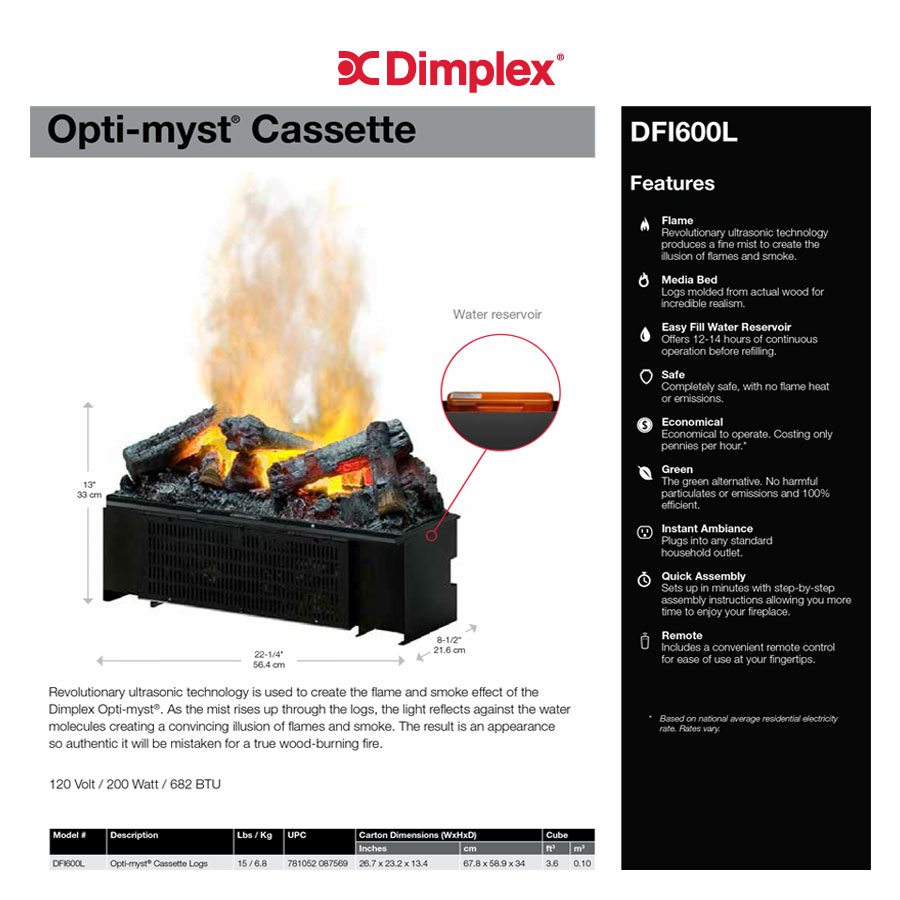 illusion gas log fire manual