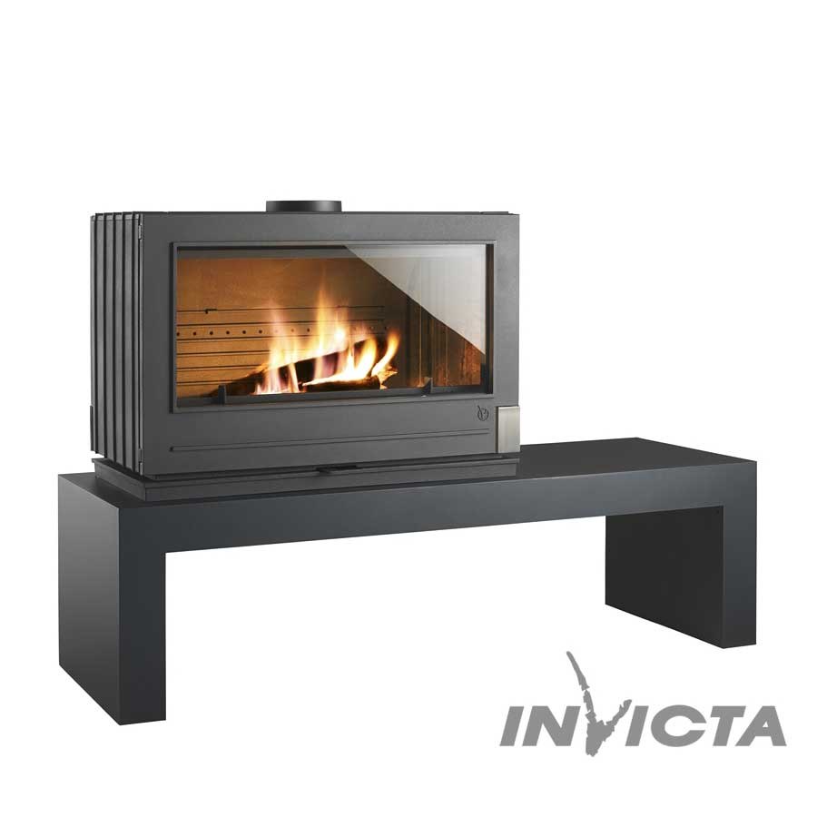invicta fireplaces preston wood and gas fireplaces. Black Bedroom Furniture Sets. Home Design Ideas
