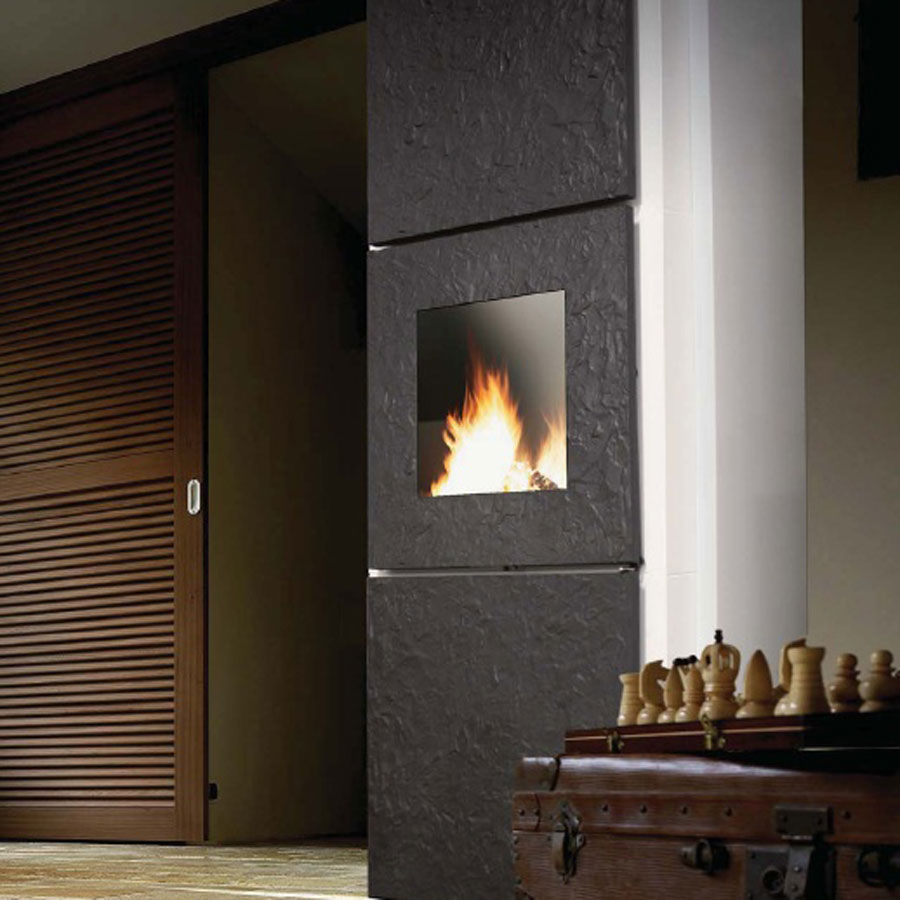 invicta fireplaces roche wood and gas fireplaces. Black Bedroom Furniture Sets. Home Design Ideas