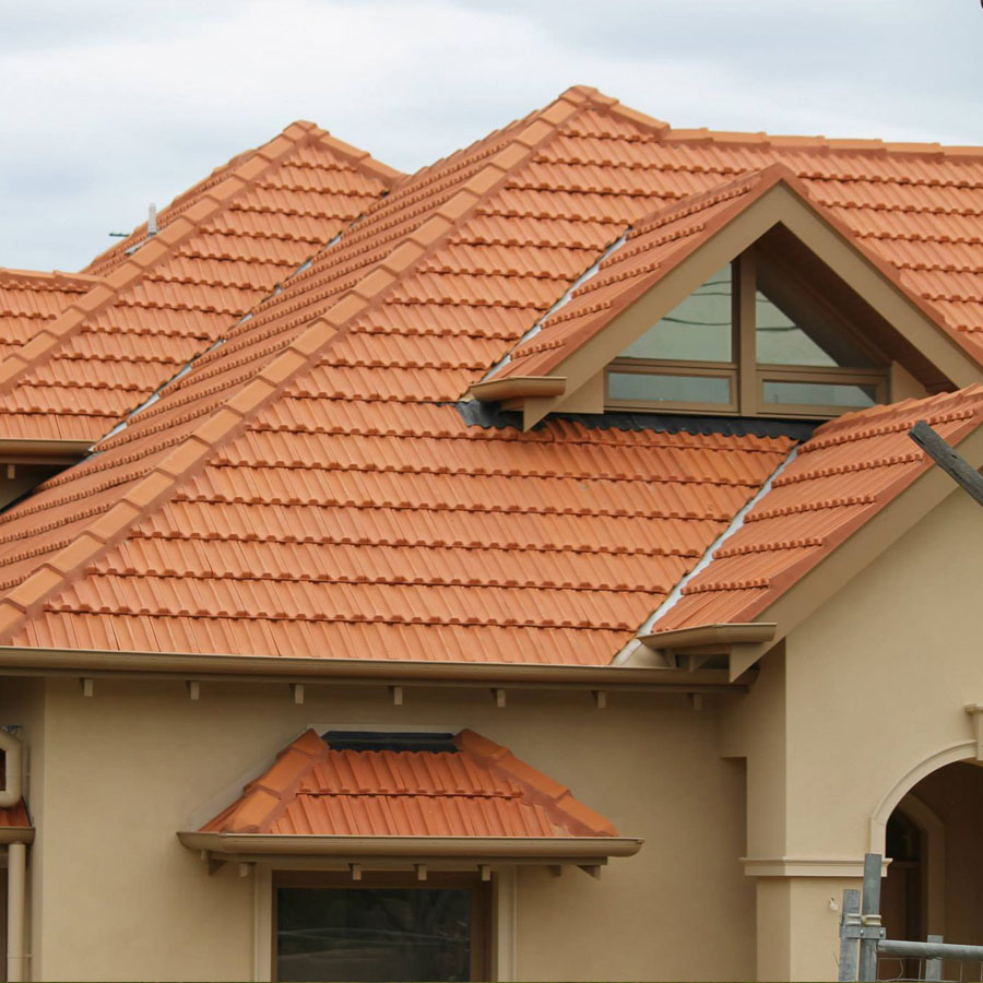 La Escandella Roof Tiles Red Flat