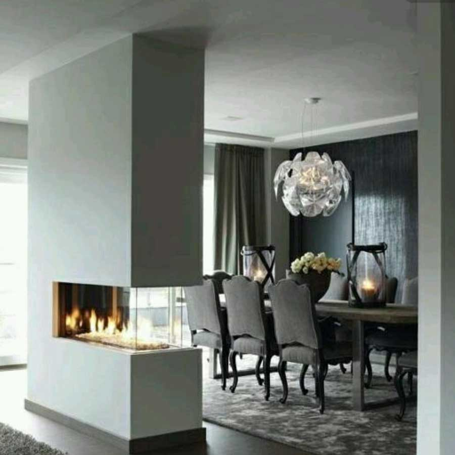 Pleasing Lineafire Fireplaces Room Divider Medium Home Remodeling Inspirations Genioncuboardxyz