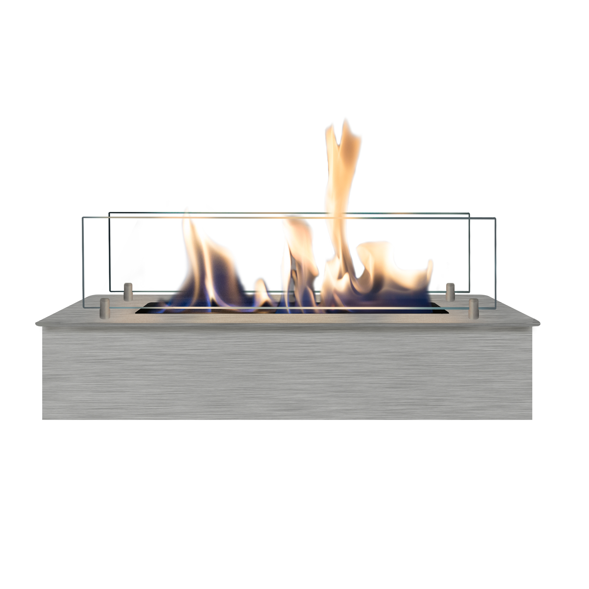 RUBY HOLLAND Bioethanol Burner 4114 Stainless + Glass