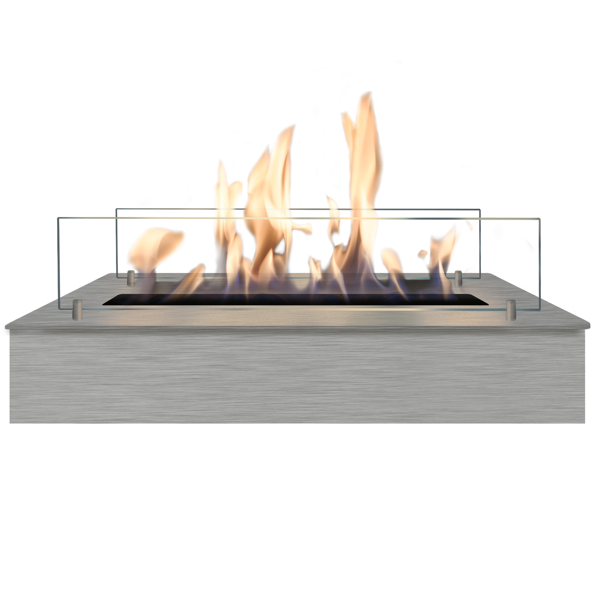 RUBY HOLLAND Bioethanol Burner 5820 Ls Big Burner Inox + Glass