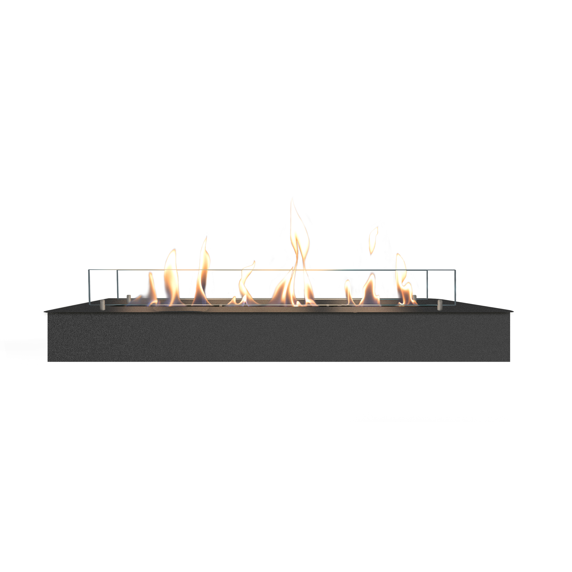 RUBY HOLLAND Bioethanol Burner 8014 LB Line Burner Black
