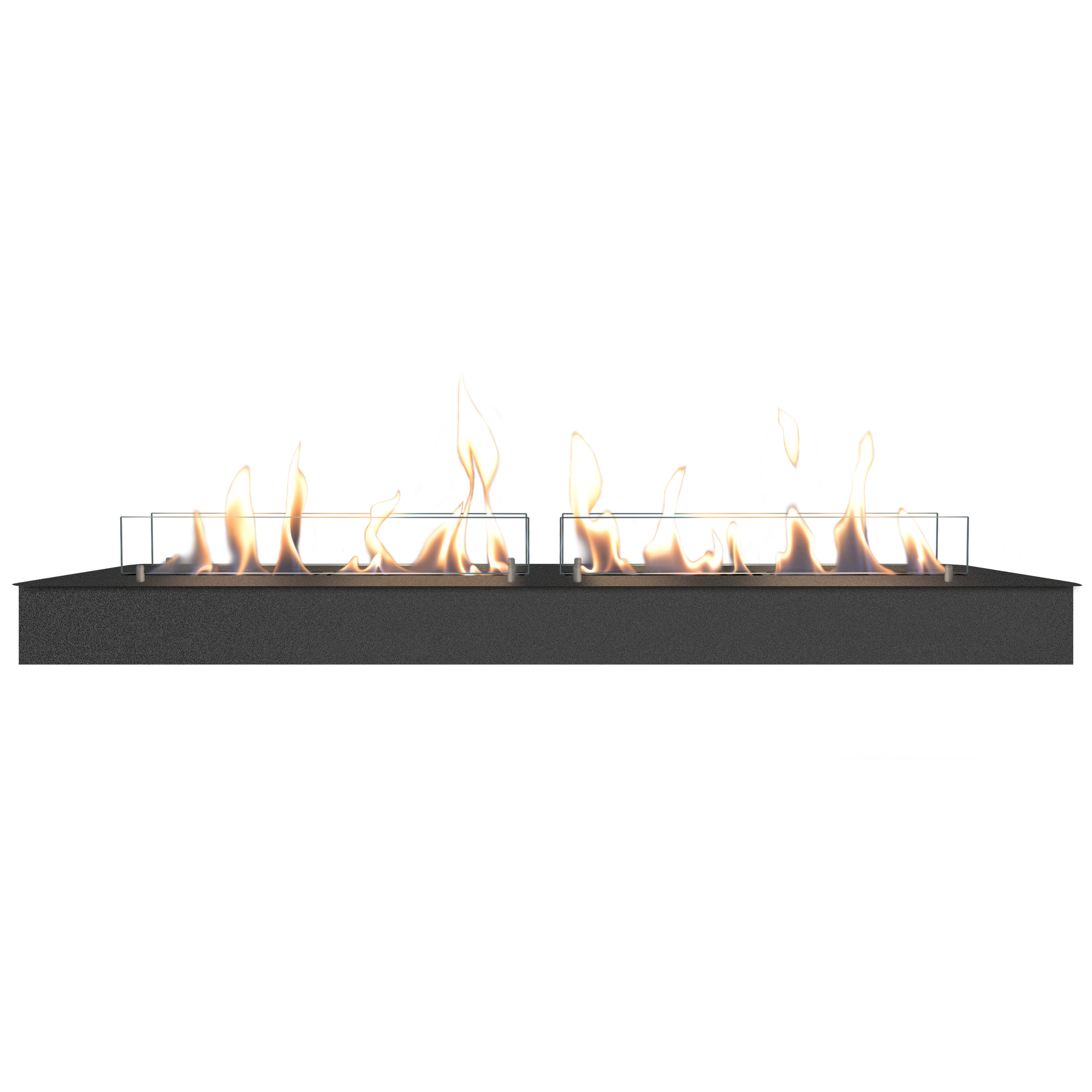 RUBY HOLLAND Bioethanol Burner 120 cm Black